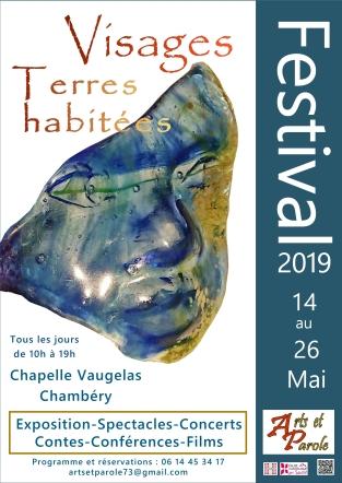 affiche festival arts et parole 2019
